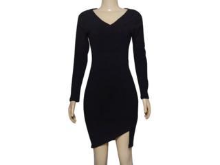 Vestido Feminino Lado Avesso 101623 Preto - Tamanho Médio