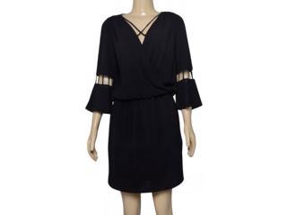 Vestido Feminino Lado Avesso 102545 Preto - Tamanho Médio