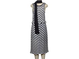 Vestido Feminino Lafort Ry1774 Preto/branco - Tamanho Médio