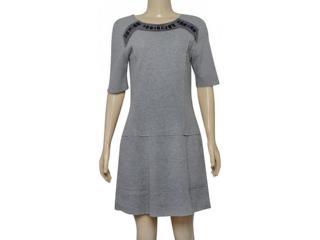 Feminino Vestido Lafort E17l213 Cinza - Tamanho Médio