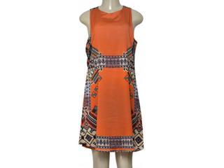 Vestido Feminino Lez a Lez L9286 Marrom - Tamanho Médio