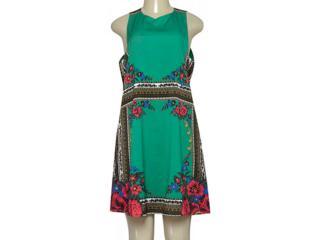 Vestido Feminino Lez a Lez L9286 Verde - Tamanho Médio