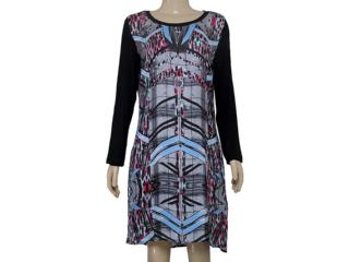 Vestido Feminino Margo 14151 Estampada - Tamanho Médio