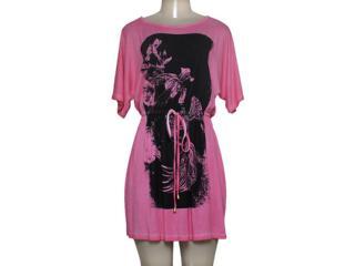 Vestido Feminino Margo 14205 Rosa/marrom - Tamanho Médio