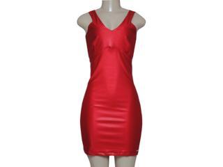 Vestido Feminino Meia Loka 35103 Vermelho - Tamanho Médio