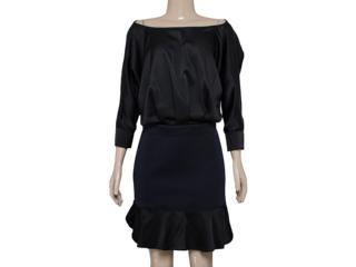 Vestido Feminino Moikana 150161 Preto - Tamanho Médio