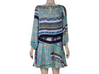 Vestido Feminino Moikana 16006 Estampado - Tamanho Médio