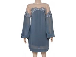 Vestido Feminino Moikana 180013 Grafite - Tamanho Médio