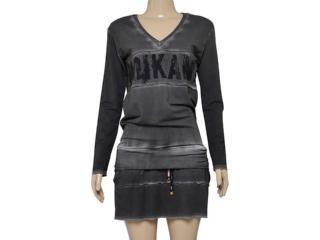 Vestido Feminino Moikana 180053 Preto - Tamanho Médio