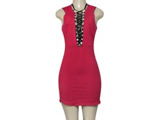 Vestido Feminino Moikana 180176 Rosa - Tamanho Médio