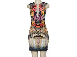 Vestido Feminino Moikana 180069 Preto Color - Tamanho Médio