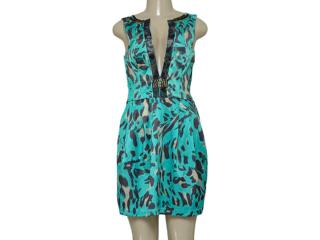 Vestido Feminino Moikana 160144 Verde Onca - Tamanho Médio