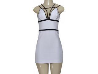 Vestido Feminino Moikana 190082 Branco - Tamanho Médio
