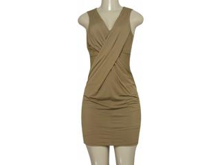 Vestido Feminino Moikana 190173 Bege - Tamanho Médio