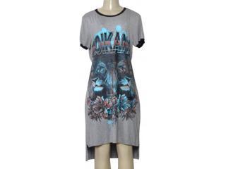 Vestido Feminino Moikana 210109 Mescla - Tamanho Médio