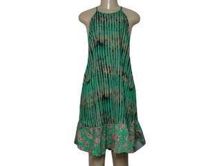 Vestido Feminino Moikana 230127 Verde - Tamanho Médio