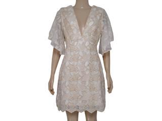 Vestido Feminino Morena Rosa 104135 Off White - Tamanho Médio