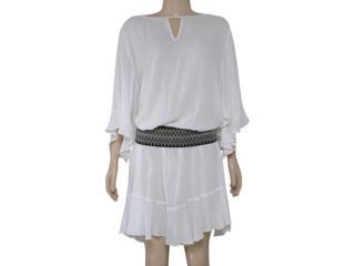 Vestido Feminino Morena Rosa 104200 Off White - Tamanho Médio