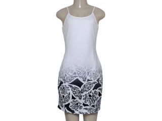 Vestido Feminino Morena Rosa 104202 Estampado Off/preto - Tamanho Médio