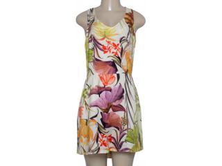 Vestido Feminino Morena Rosa 202171 Off White Estampado - Tamanho Médio