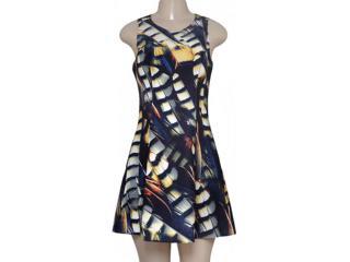 Vestido Feminino Morena Rosa 104641 Estampado - Tamanho Médio