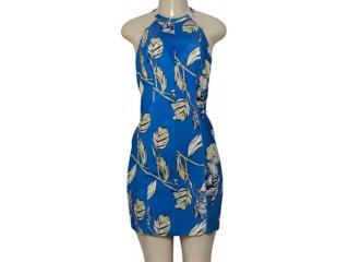 Vestido Feminino Morena Rosa 104740 Azul/verde - Tamanho Médio
