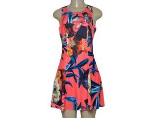 Vestido Feminino Morena Rosa 105215 Estampado - Tamanho Médio