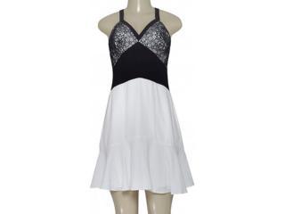 Vestido Feminino Morena Rosa 105244 Preto/off White - Tamanho Médio