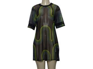 Vestido Feminino Mormaii Clothing 445900088 Var7 Preto/verde - Tamanho Médio