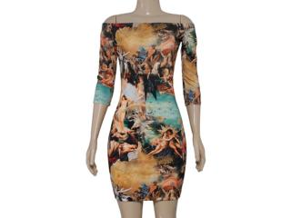 Vestido Feminino Triton 441402693 Estampado - Tamanho Médio