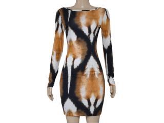Vestido Feminino Triton 441402387 Estampado - Tamanho Médio