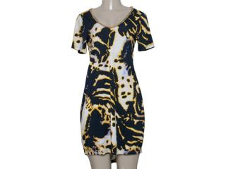 Vestido Feminino Triton 441401897 Amarelo - Tamanho Médio