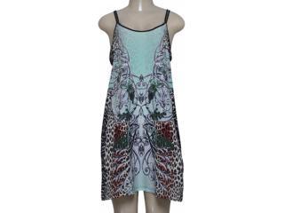 Vestido Feminino Triton 441403207 Verde Estampado - Tamanho Médio
