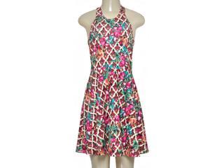 Vestido Feminino Triton 441403259 Pink Estampado - Tamanho Médio