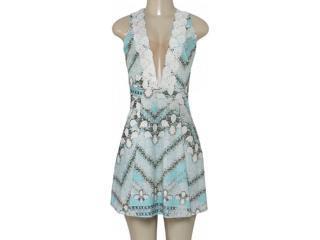 Vestido Feminino Triton 441403341 Bege Estampado - Tamanho Médio