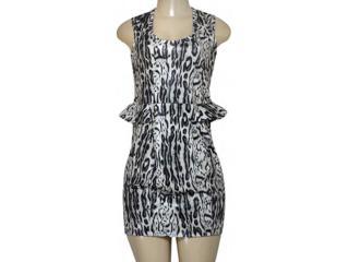 Vestido Feminino Triton 441402197 Onca - Tamanho Médio