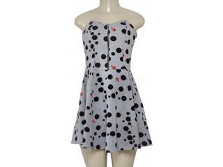Vestido Feminino Triton 441400902 Cinza - Tamanho Médio