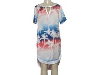 Vestido Feminino Triton 441403524 Var2 Off White Estampado - Tamanho Médio