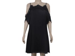 Vestido Feminino Zinco 103076 Preto - Tamanho Médio