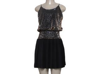 Vestido Feminino Zinco 103104 Dourado - Tamanho Médio