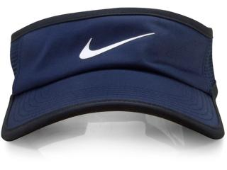 Viseira Unisex Nike 899654-451 nk Arobil Fthrlt Preto/marinho - Tamanho Médio