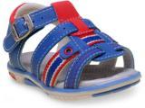 Sandália Masc Infantil Kidy 00106878618 Azul Náutico/gelo/vermelho
