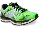 Tênis Masculino Asics T507n.8501 Nimbus 17 Verde/preto