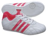Tênis Uni Infantil Adidas Kundo k G25588 Branco/cereja