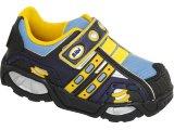 Tênis Masc Infantil Bibi 569002 Preto/azul/amarelo
