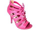 Sandal Boots Feminina Via Marte 10-15506 Fúcsia