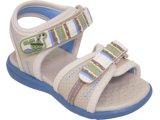 Sandália Masc Infantil Klin 951.015 Bege/azul