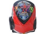 Mochila Masc Infantil Sestini 60762 Hot Wheels Preto/vermelho