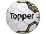 Bola Unisex Topper 4120702 Bco/prt/amarelo