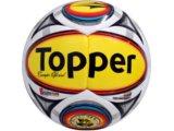 Bola Unisex Topper 4120716 Bco/amarelo/vermelho